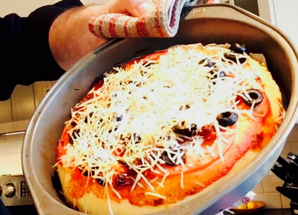This gluten free pizza crust recipe works equally well for either thin crust or deep dish pizzas ... don't deny yourself the pleasure of old-school pizza any longer!