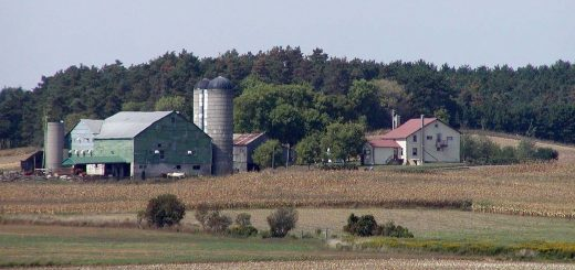 Farm in the Kitchener area of Ontario by Stan Shebs