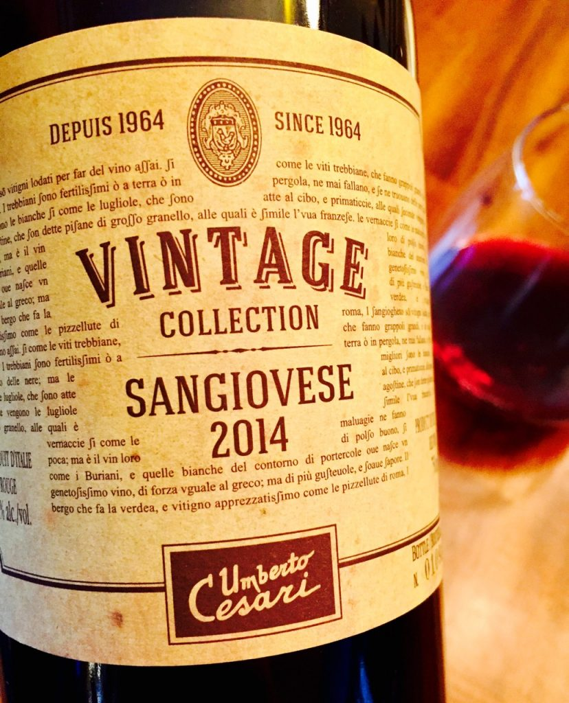 Umberto Cesari Vintage Collection Sangiovese 2014