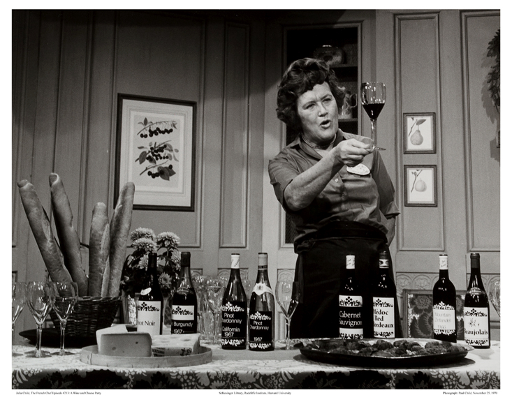 """As you get older, you shouldn't waste time drinking bad wine."" - The Indomitable Julia Childs"