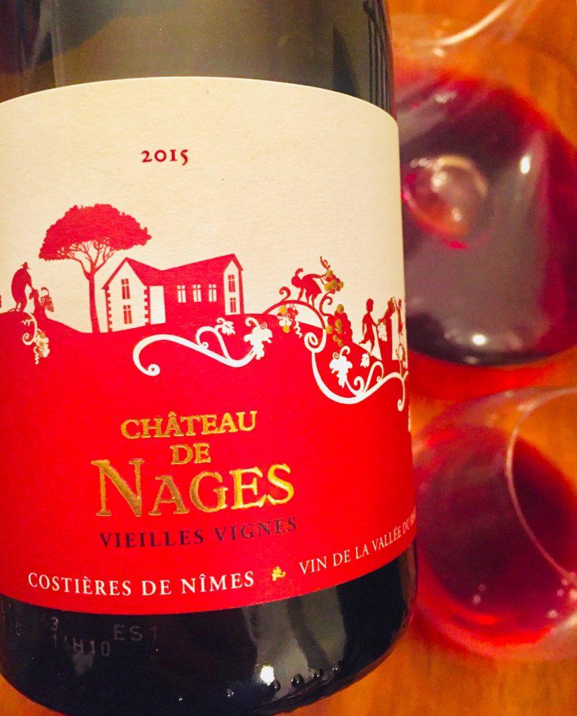 Château de Nages Vieilles Vignes 2015 Costières de Nîmes