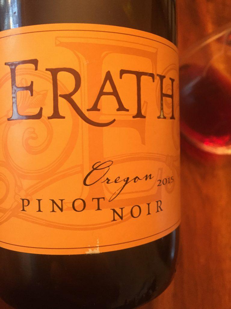 Erath Pinot Noir Oregon 2015