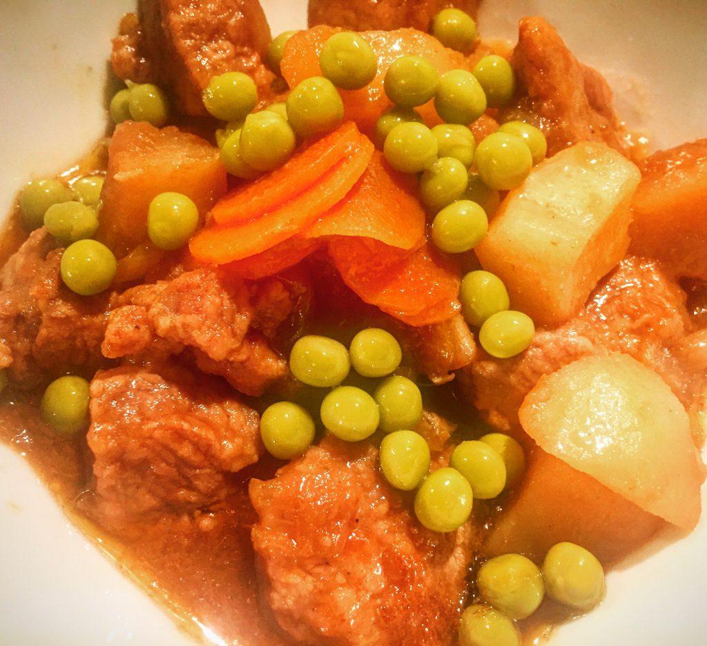 Delicious gluten free Irish Stew