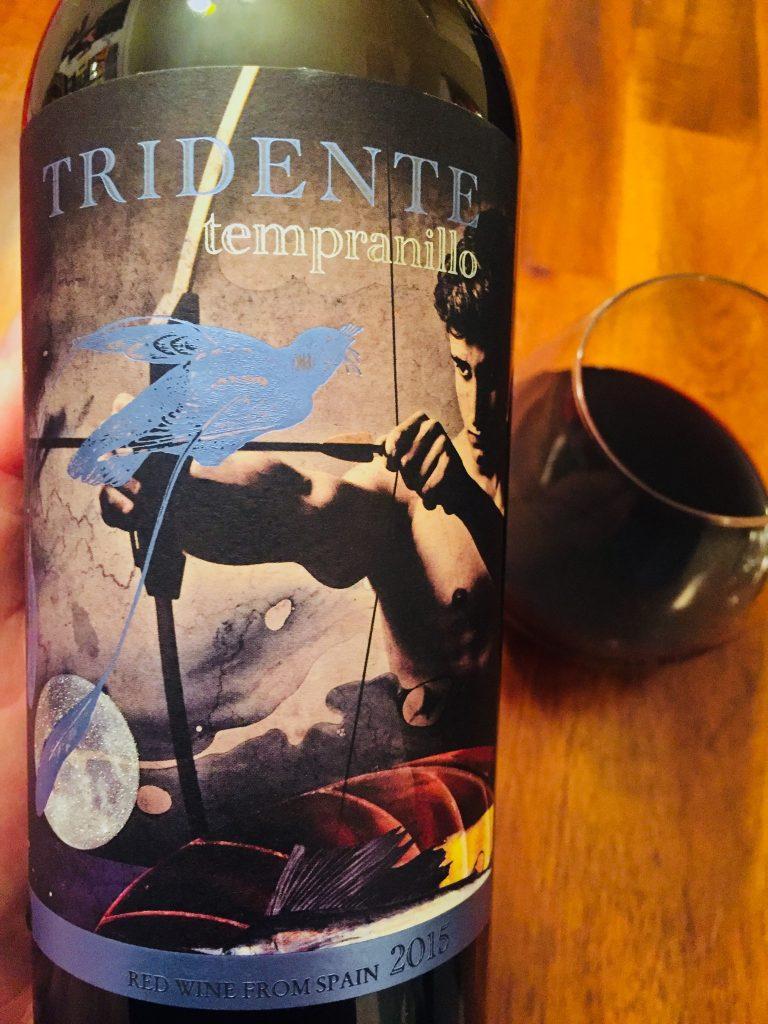 Bodegas Tridente Tempranillo 2015