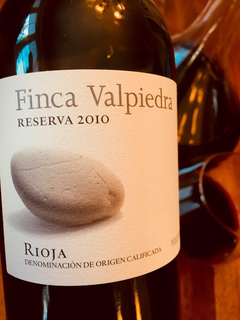 Finca Valpiedra Reserva 2010 Rioja