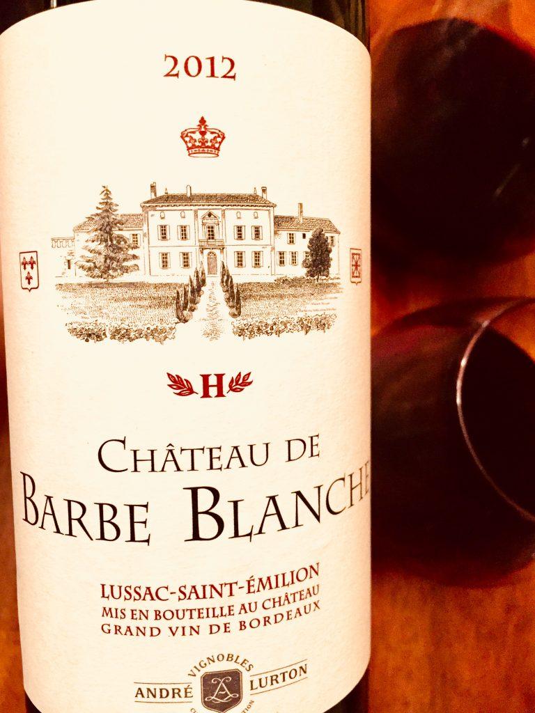 Chateau de Barbe Blanche 2012 Bordeaux